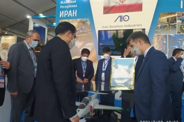 آغاز بکار نمایشگاه بین المللی هوافضای روسیه با حضور وزارت دفاع ایران